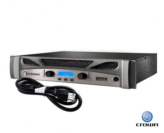 crown xti 6002 2 series power amplifier amp your pro eqipment. Black Bedroom Furniture Sets. Home Design Ideas
